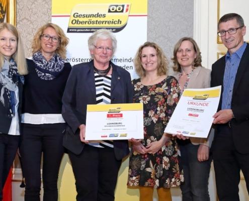 Gewinner OÖ Gesundheitsförderungspreis 2017 - Gemeinde Lohnsburg am Kobernaußerwald