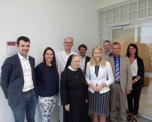 Besuch im Krankenhaus St. Josef Braunau